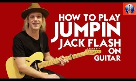 How to Play Jumpin Jack Flash on Guitar – Killer Rolling Stones Lesson