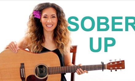 Sober Up – AJR Guitar Tutorial NO BARRE CHORDS and Play Along