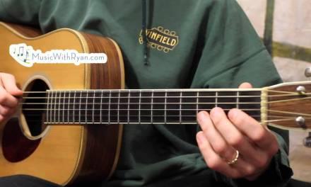 E minor and A Minor Pentatonic Scales w/ Free Tabs!