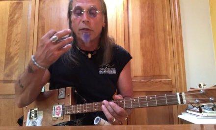 Preacher Blues lesson for 3 string Cigar Box Guitars