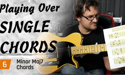 How To Play Over mMaj7 Chords – Improvisation Masterclass #6