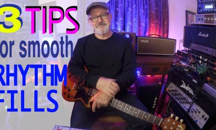 3 Tips For Smooth Rhythm Fills | Tim Pierce | Learn To Play | Guitar Lesson
