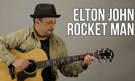 Elton John – Rocket Man – Guitar Lesson – How to Play Acoustic Easy Songs on Guitar