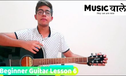 Beginner Guitar Lesson | How To Play C Major Scale | Music Wale
