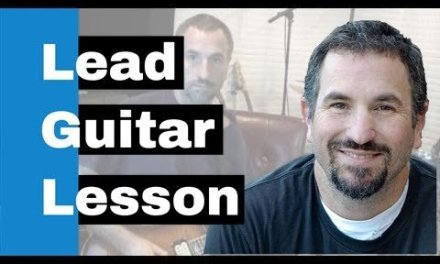 Lead Electric Guitar Lesson – How To Play Like Stevie Ray Vaughan