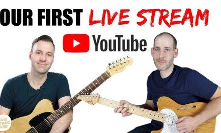 Live Q&A Guitar Lesson #1