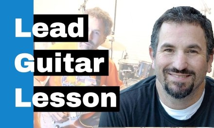 Lead Electric Guitar Lesson – Short and Sweet Guitar Lick