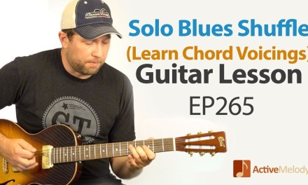 Blues Guitar Lesson – Solo Blues Shuffle in G – Learn to Improvise on Guitar – EP265