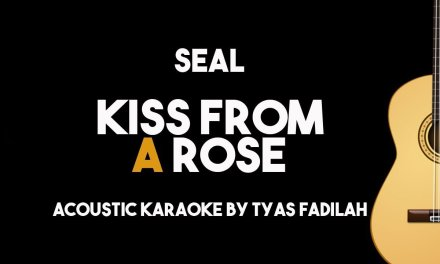 Seal – Kiss From A Rose (Acoustic Guitar Karaoke Backing Track with Lyrics)