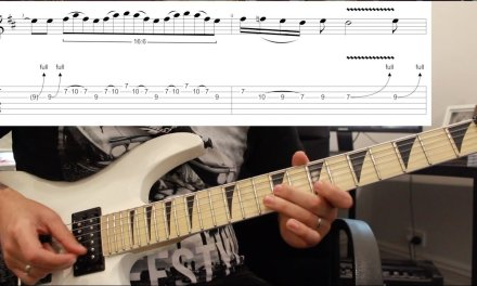 How to play 'Panama' by Van Halen Guitar Solo Lesson w/tabs
