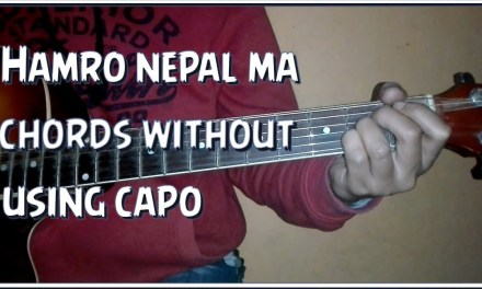 Hamro nepal ma guitar chords without capo