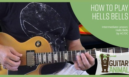 How to Play Hells Bells by AC/DC – Guitar Lesson