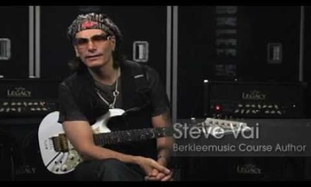 "Steve Vai ""How to Play Building The Church"" Presented by Berkleemusic.com & Guitar Player Magazine"