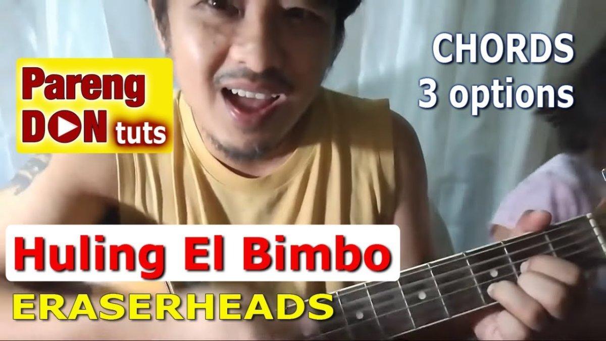 Guitar Tutorial Ang Huling El Bimbo Chords 3 Options No Capo W