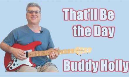 That'll Be the Day – Buddy Holly (Solo Guitar Lesson with TAB)
