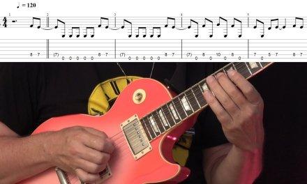 Hypnotic Phrygian Metal Riff – Guitar Lesson