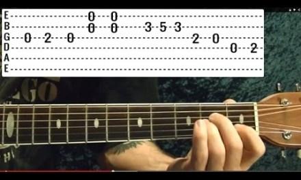 BECK – Loser –  Guitar Lesson – EASY!