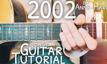 2002 Anne Marie Guitar Lesson for Beginners // 2002 Guitar // Lesson #469