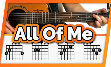 All of Me Guitar Tutorial (Lesson) – Easy Chords For Beginners