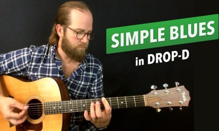 2-string Blues in Drop-D (Warm Up Exercise #1)