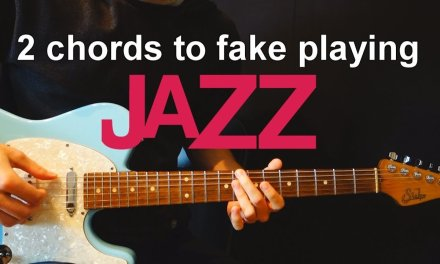 2 Guitar Chords To Fake Playing Jazz – Chordal Lesson Ep.6