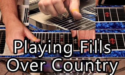 Playing Fills Over Country Songs   Pedal Steel Guitar Lesson