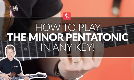 How To Play The Minor Pentatonic In Any Key – Beginners Guitar Lesson