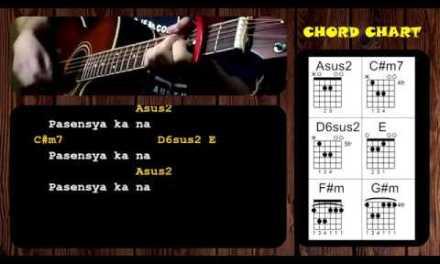 Pasensya Ka Na by Silent Sanctuary – Guitar Chords