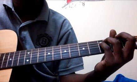 Adiga Adiga Easy Guitar Chords Finger Style Tutorial  for Beginners