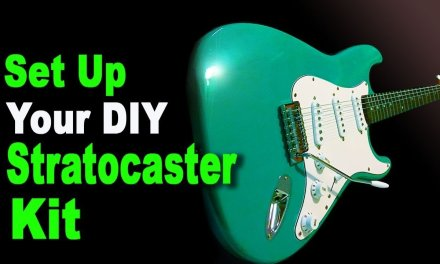 Set Up Your DIY Stratocaster Kit. With Billy Etheridge from Accu-Tech Guitars