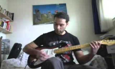 david bowie * starman *  guitar cover with solo – Sakis Papafloratos