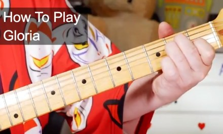 'Gloria' Them & Van Morrison Guitar Lesson