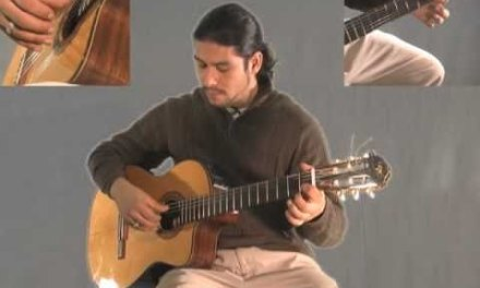 Learn Greensleeves  on Classical Guitar part 2