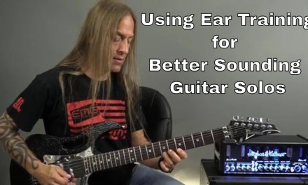Using Ear Training for Better Sounding Guitar Solos – Steve Stine Guitar Lesson