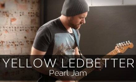 YELLOW LEDBETTER (Pearl Jam) – Electric Guitar Solo Cover