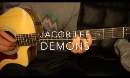 Jacob Lee // Demons // Easy Guitar Lesson (W/tabs!)