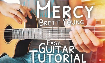 Mercy Brett Young Guitar Lesson for Beginners // Mercy Guitar // Guitar Lesson #539