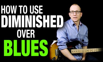 How to use Diminished Scale in Blues – Q & A with Robert Renman