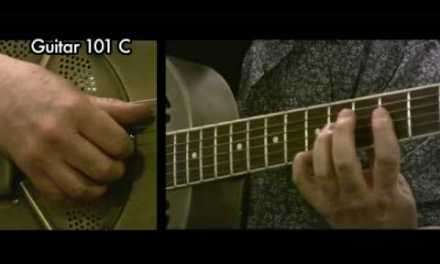 Delta Blues Guitar Lesson:Canned Heat Blues free guitar lesson w/ TAB National Steel