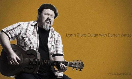 Darren Watson | FREE BLUES GUITAR LESSON | A Swinging Intro