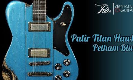 Palir Titan Hawk   Pelham Blue Relic Tele