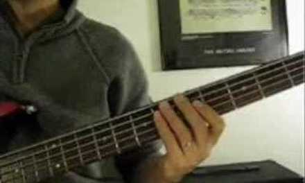 Bass Guitar Lesson – Major scale workout