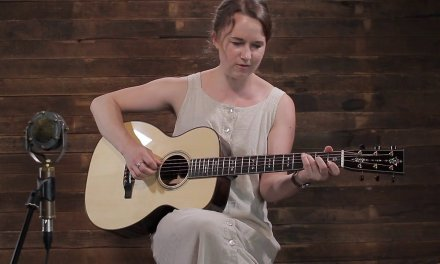 Courtney Hartman – Bourgeois 0 – European Spruce & Brazilian Rosewood #7880