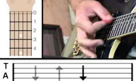 Guitar Lesson 4 – Strumming Pattern (www.vGuitarLessons.com)
