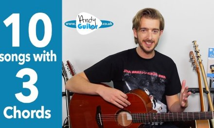 Let's Stick Together – Fun 3 Chord Guitar Song Tutorial