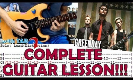 Wake Me Up When September Ends – Green Day(Complete Guitar Lesson/Cover)with Chords and Tab