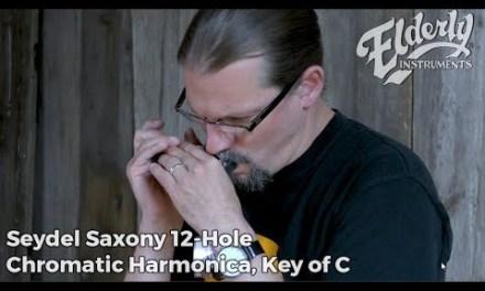 Seydel Saxony 12-Hole Chromatic Harmonica, Key of C | Elderly Instruments