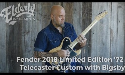 Fender 2018 Limited Edition '72 Telecaster Custom with Bigsby | Elderly Instruments