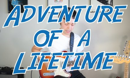 """Learn """"Adventure Of A Lifetime"""" Lead Guitar Riff by Coldplay 
