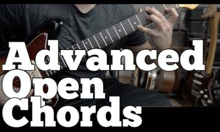 31 Advanced Open String Minor Chords | Guitar Lessons |